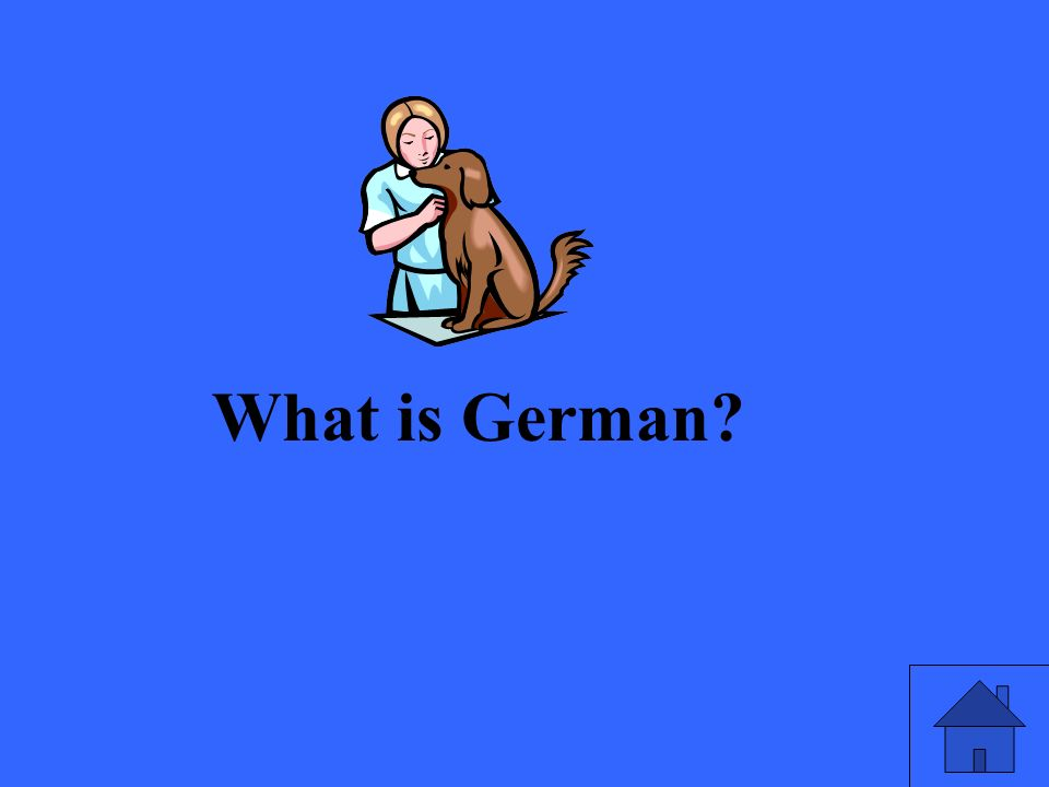 What is German?