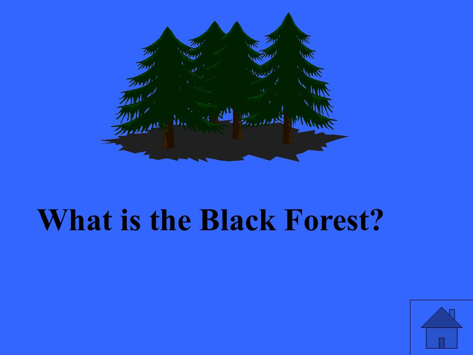 What is the Black Forest?