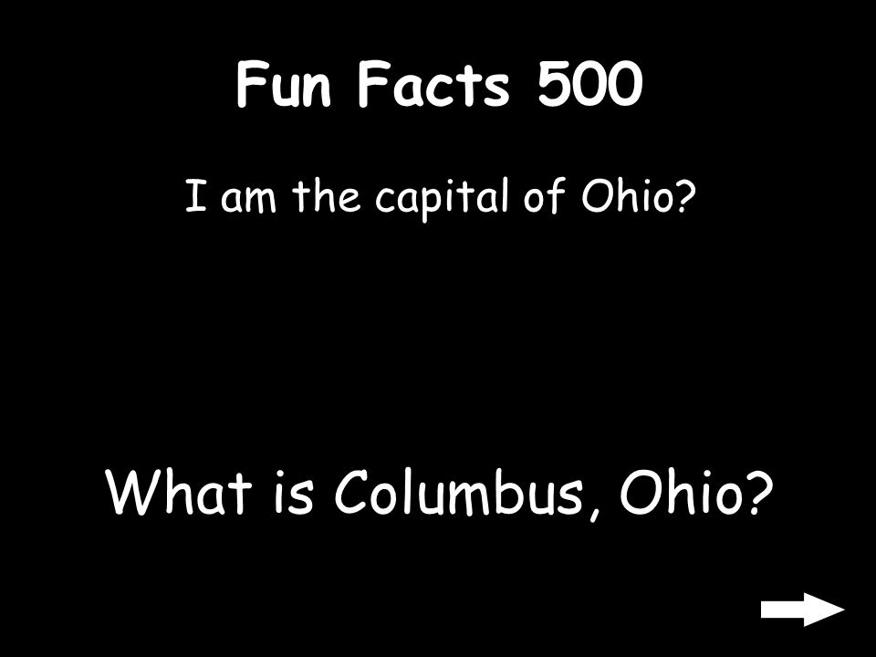 Fun Facts 400 What does USA stands for What is United States of America