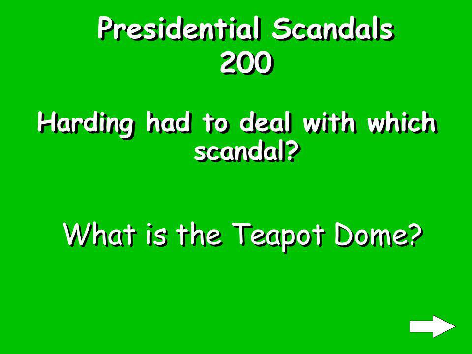 Presidential Scandals 100 Clinton is famous for which scandals.