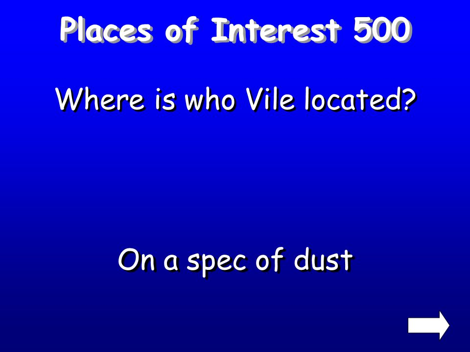 Places of Interest 400 What is the name of the apartments where the mayor discovers Jo-Jo? Fairfax