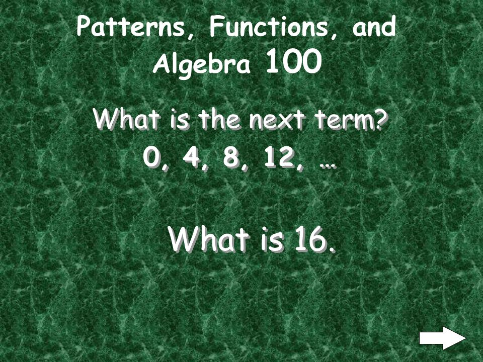 Number Sense and Operations 500 What is the answer to 4^0 + [(2 x 3) + 5] / -2 What is the answer to 4^0 + [(2 x 3) + 5] / -2 What is -6.