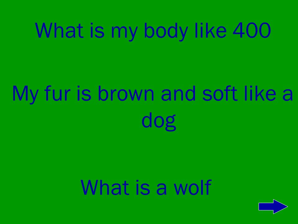 What is my body like 300 In the winter my coat is gray What is a caribou fawn