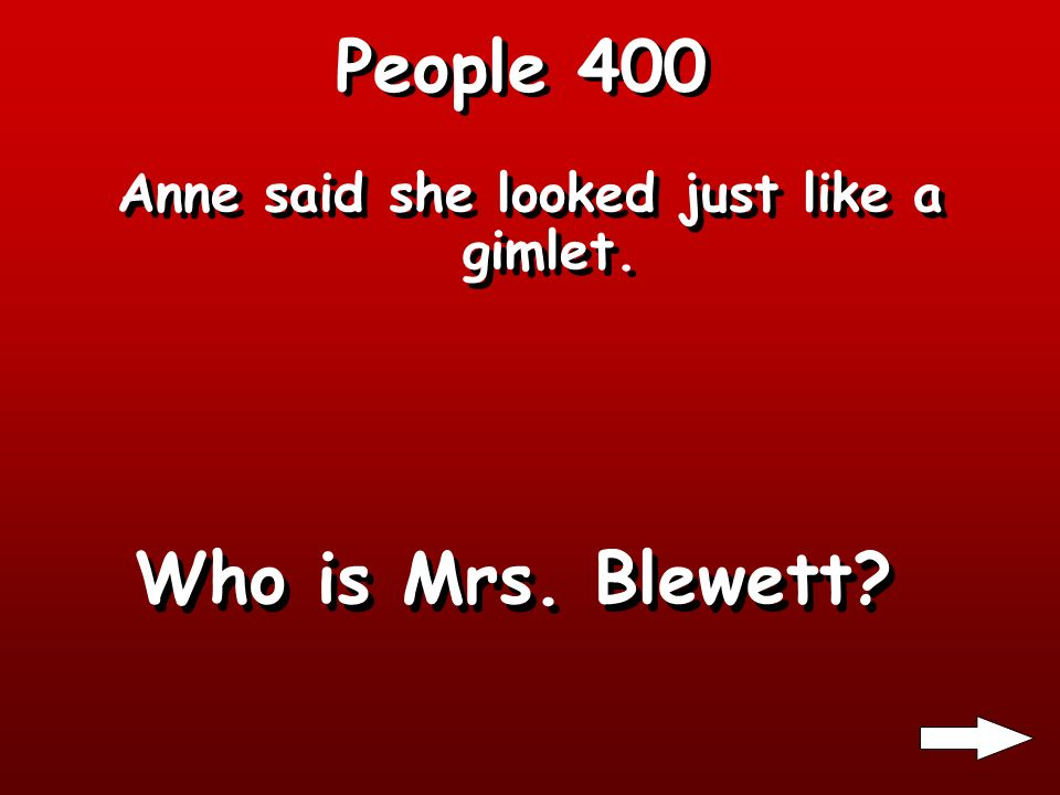 People 300 Anne hit him over the head with her slate. Who is Gilbert Blythe?