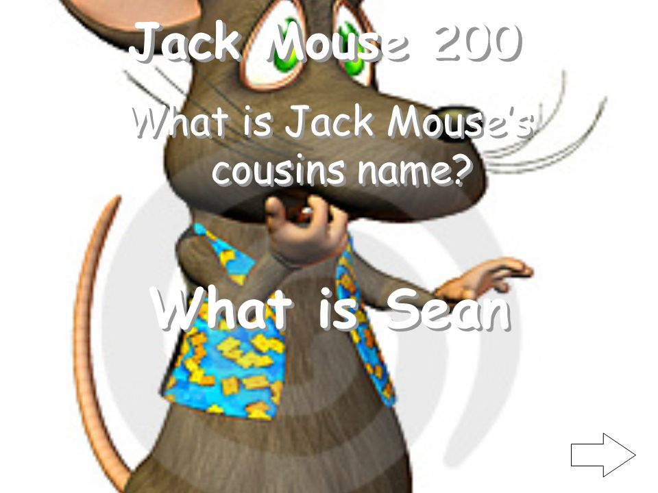 Jack Mouse 100 Where is Jack Mouse invited for St. Pattys Day What is Ireland