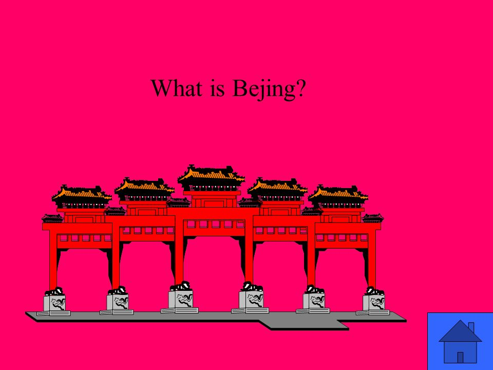 What is Bejing?