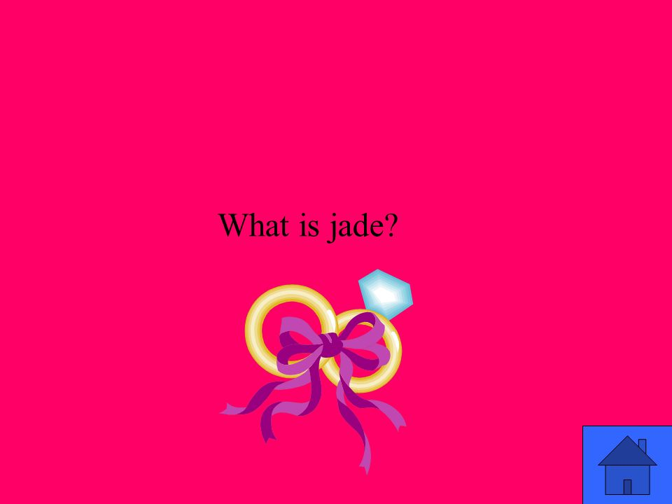 What is jade?