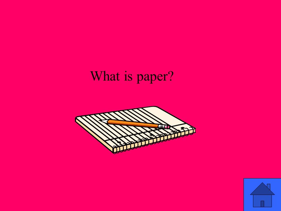 What is paper