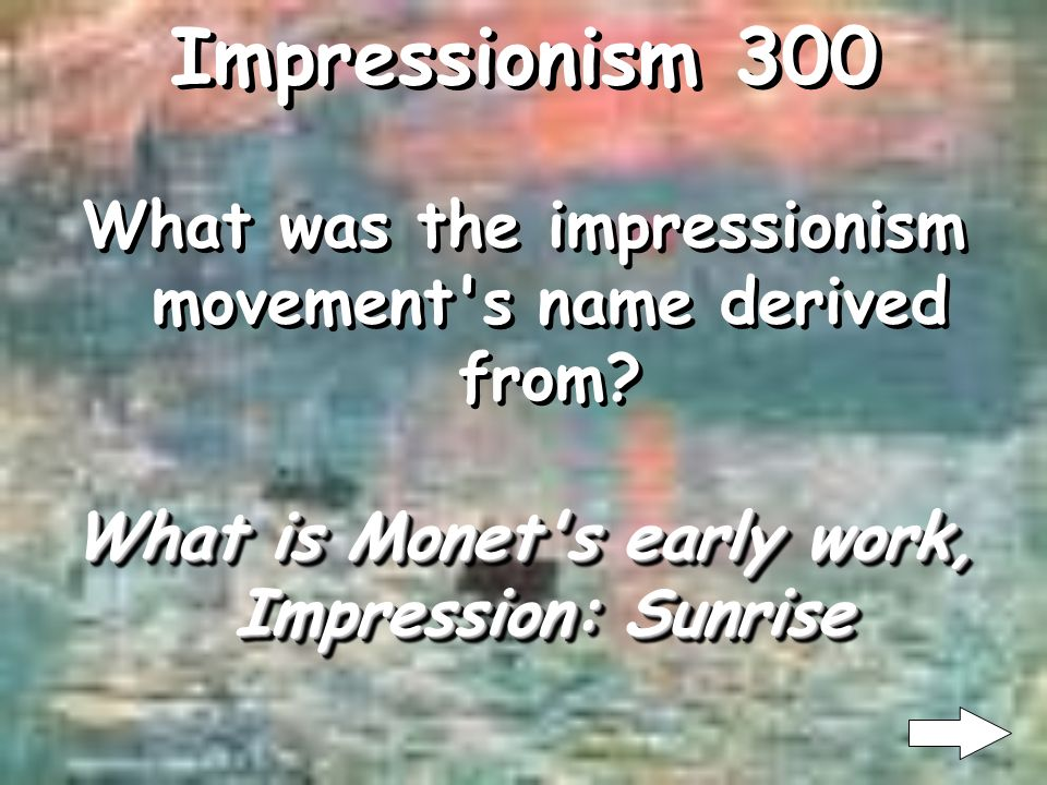 Impressionism 200 What is Academic Art What is Academic Art Impressionism was a reaction against what art style