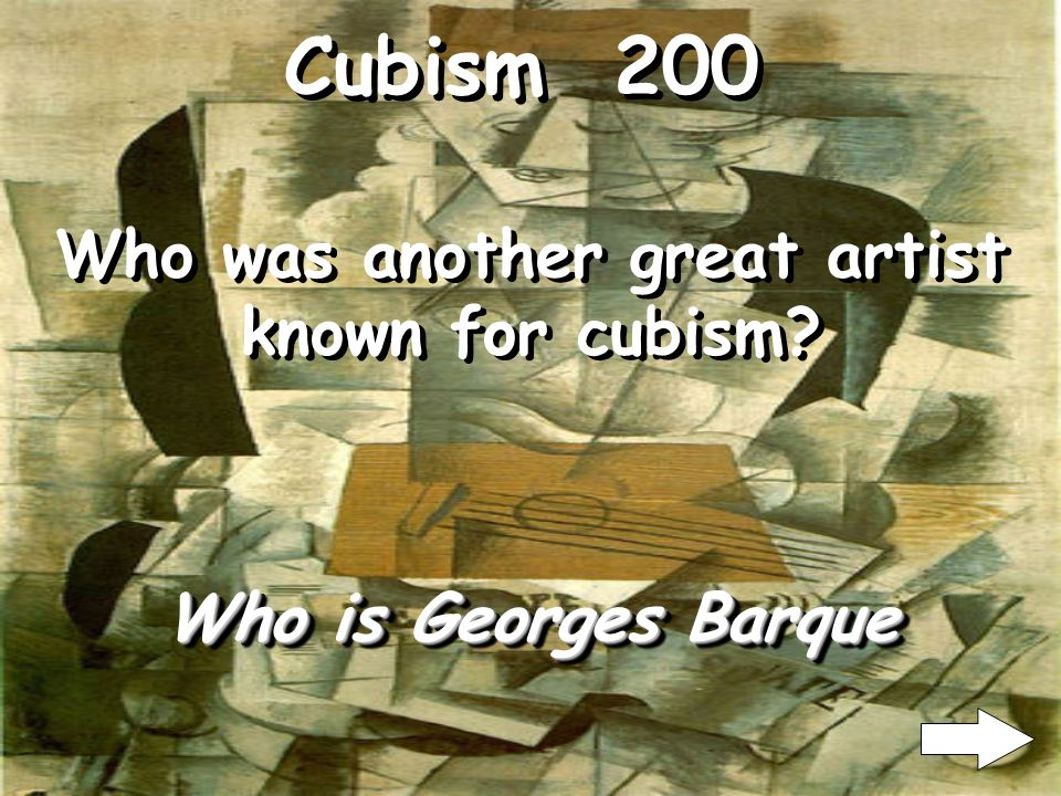 Cubism 100 Who is Pablo Picasso Who was one of the great artist of cubism