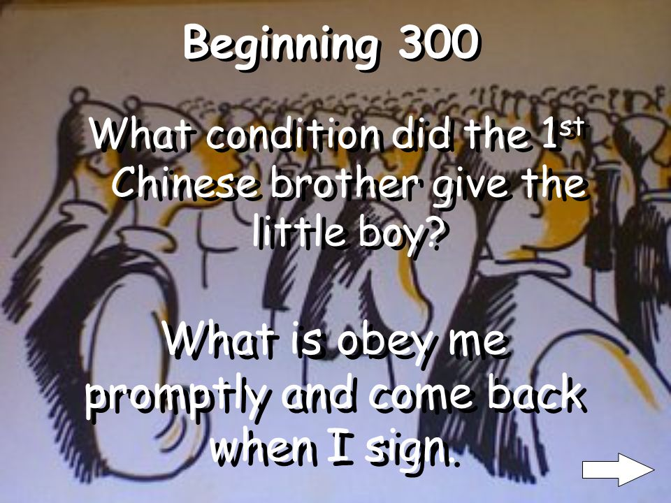 Beginning 200 What does the 1 st Chinese brother do with the fish, he caught.