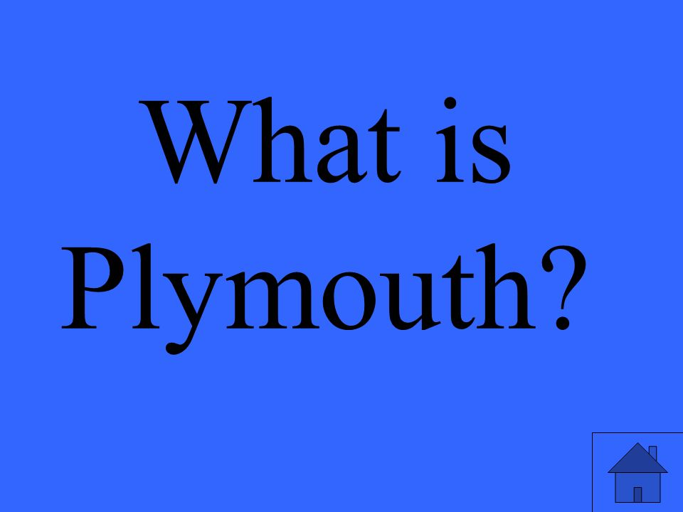 What is Plymouth