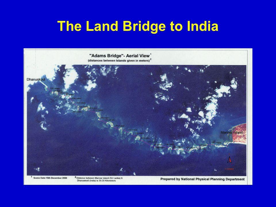 The Land Bridge to India