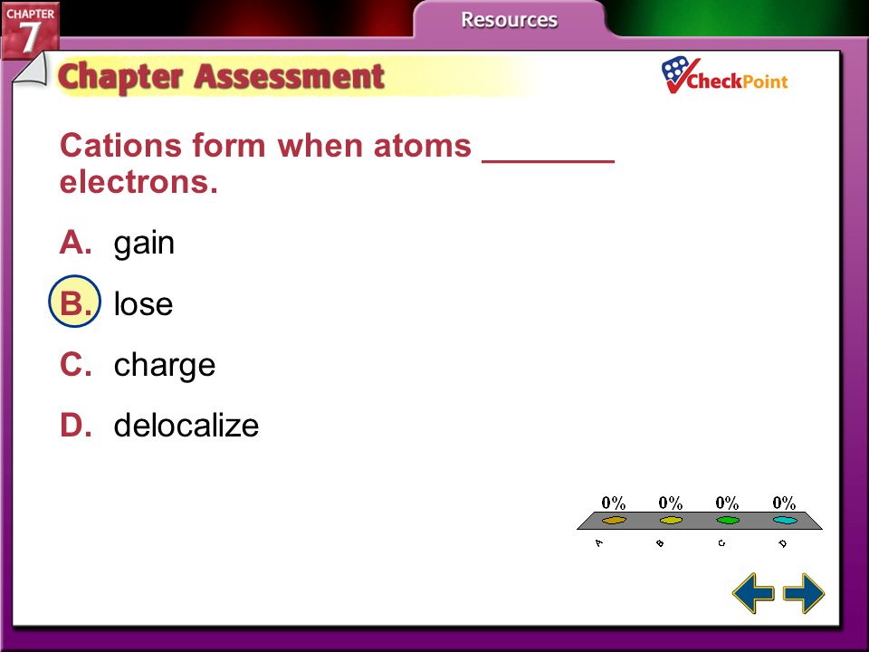 Study Guide 4 Section 7.4 Metallic Bonds and the Properties of Metals Key Concepts A metallic bond forms when metal cations attract freely moving, del