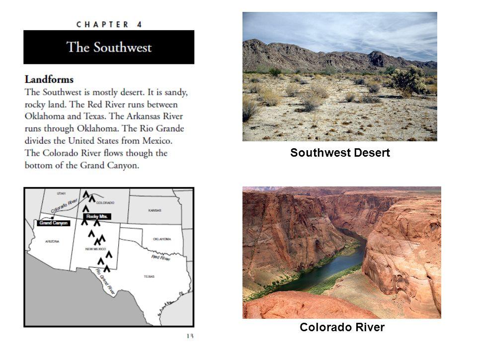 Southwest Desert Colorado River