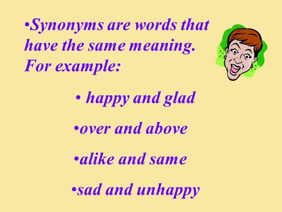 Now you try some on your own.1. What is the synonym for begin .
