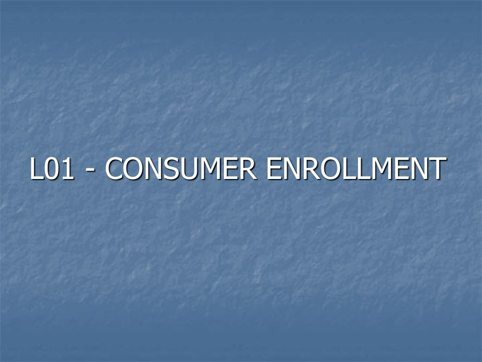 01-08-08 L01:CONSUMER ENROLLMENT: ADD/CHANGE/DELETE VC060220 PLEASE ENTER ONE OF THE FOLLOWING: PLEASE ENTER ONE OF THE FOLLOWING: CLIENT ID: __________ CLIENT ID: __________ COMPONENT CODE/LOCAL CASE NUMBER: ___ / __________ COMPONENT CODE/LOCAL CASE NUMBER: ___ / __________ PLEASE ENTER THE FOLLOWING: PLEASE ENTER THE FOLLOWING: TYPE OF ENTRY: _ (A/ADD,C/CHANGE,D/DELETE) TYPE OF ENTRY: _ (A/ADD,C/CHANGE,D/DELETE) *** PRESS ENTER *** *** PRESS ENTER *** ACT: ____ (L00/AUTH DATA ENTRY MENU, A/MA MAIN MENU, HLP(PF1)/SCRN DOC) ACT: ____ (L00/AUTH DATA ENTRY MENU, A/MA MAIN MENU, HLP(PF1)/SCRN DOC)