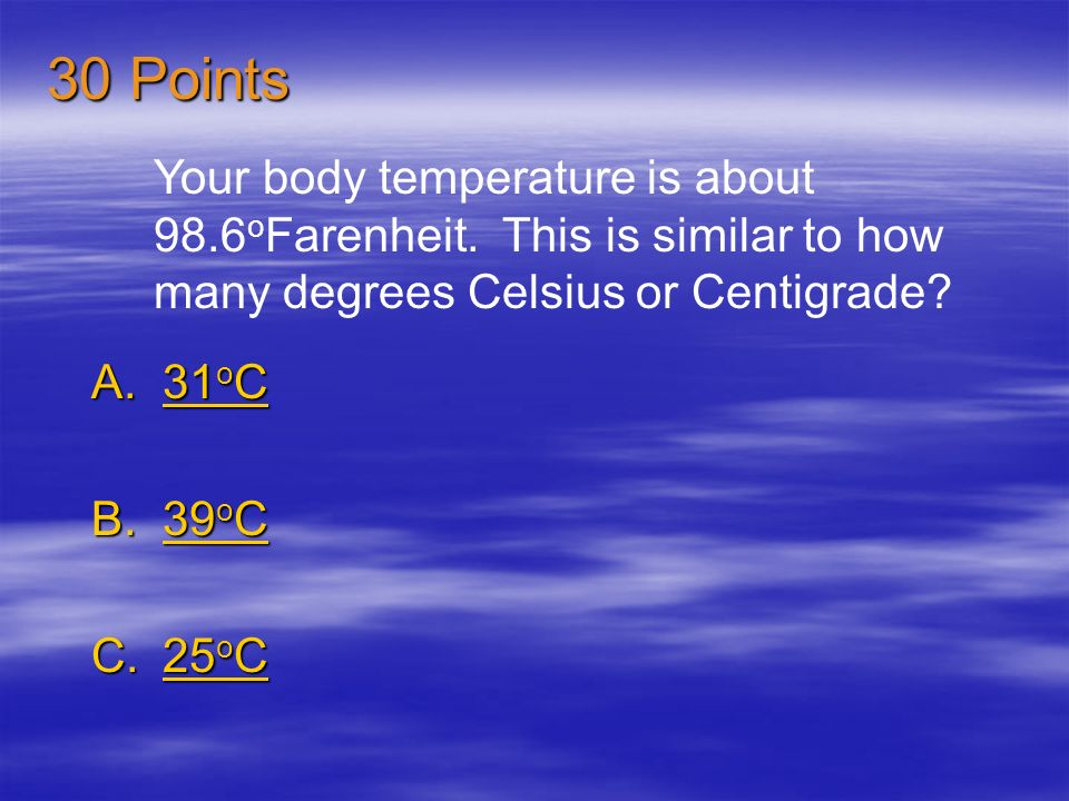 Temperature measures how fast what are moving? A.air molecules air moleculesair molecules B.soil molecules soil moleculessoil molecules C.water molecu
