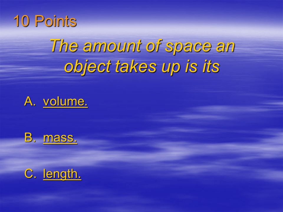 The volume of an irregular object can be figured out by subtracting A.and then adding both volumes. and then adding both volumes.and then adding both