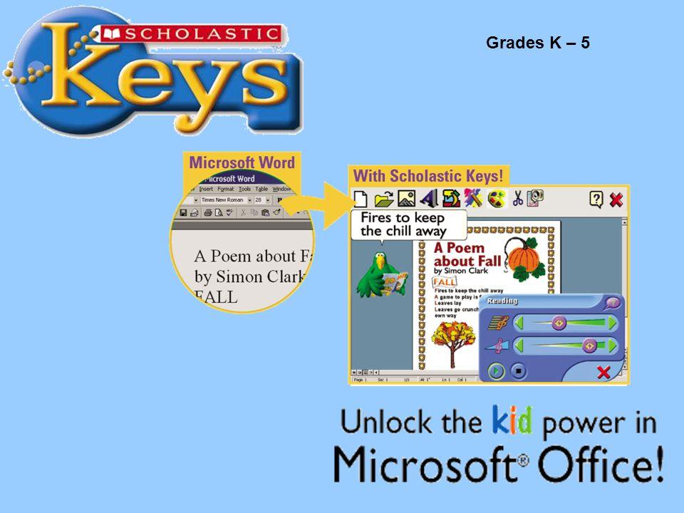 Scholastic Keys Grades K – 5