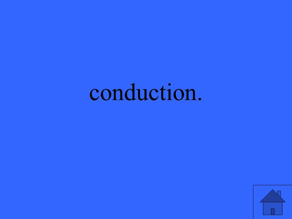 conduction.