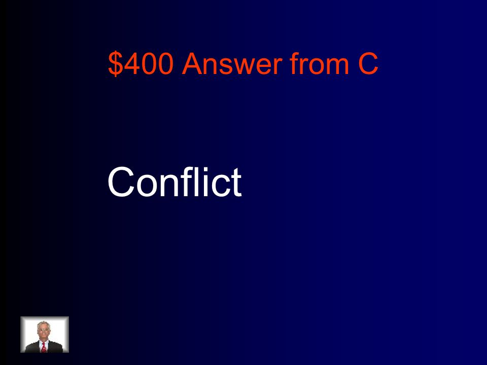 $400 Answer from C Conflict