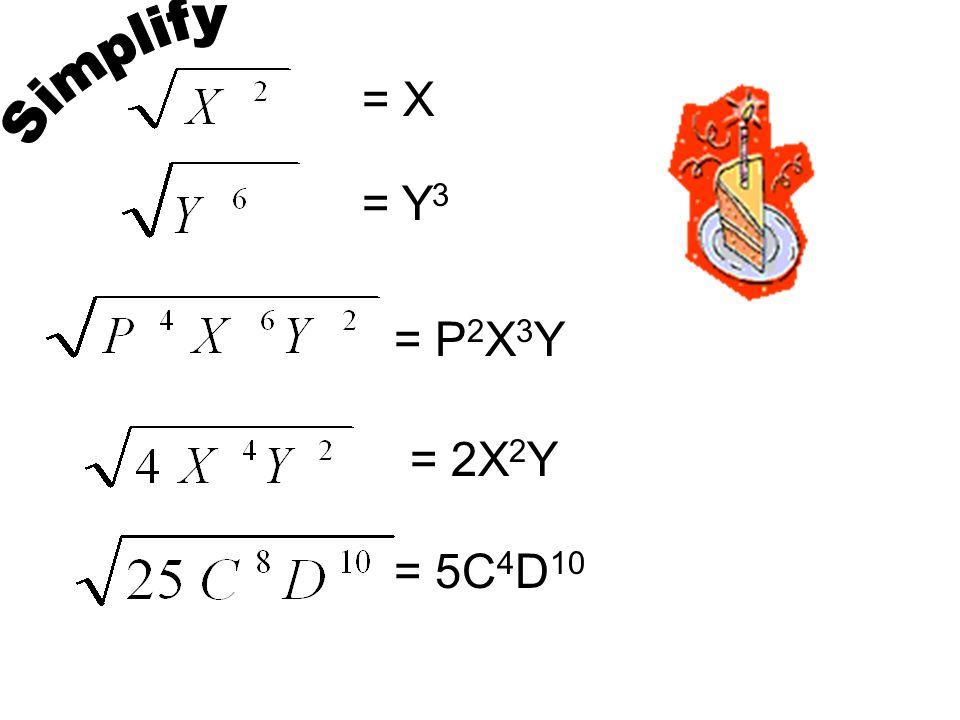 = X = Y 3 = P 2 X 3 Y = 2X 2 Y = 5C 4 D 10