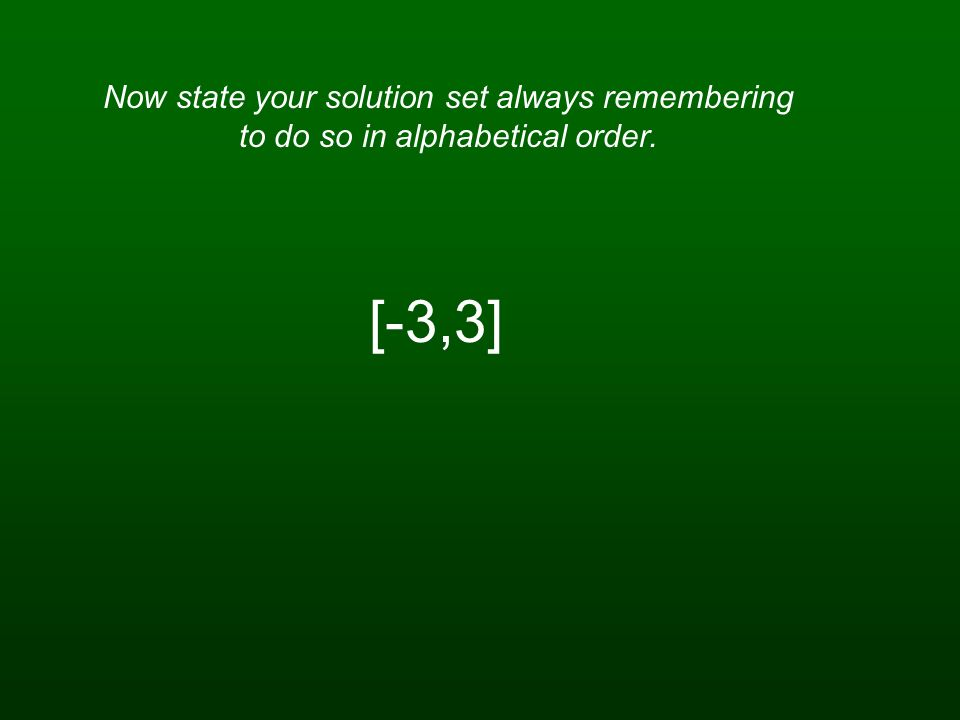 Now substitute the known value into either one of the original equations.