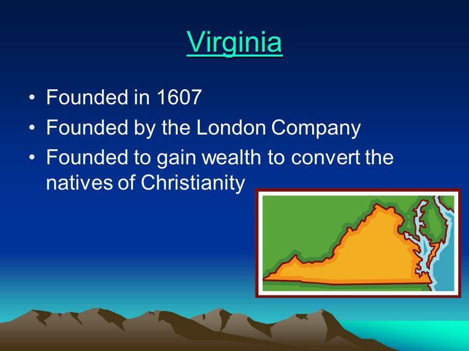 Table of Contents Virginia Massachusetts New Hampshire Maryland Connecticut Rhode Island Delaware (Was New Sweden)Delaware North Carolina South Caroli