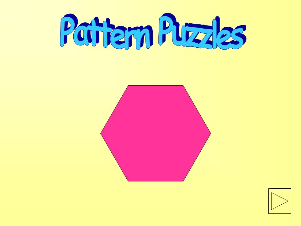 Click here to return to beginning Patterns and Relationships The following lesson is addressing these standards: Examine, predict, design,extend, and