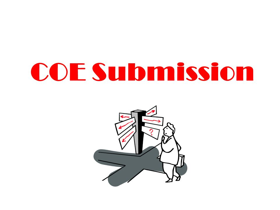 COE Submission