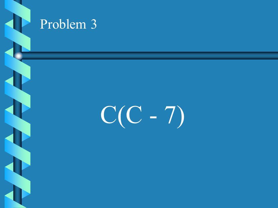 Problem 2 9(3A - 5)