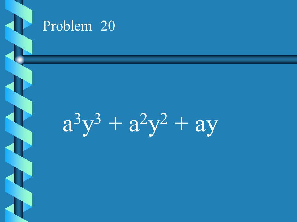Problem 19 15x 3 +24x 2 + 36x