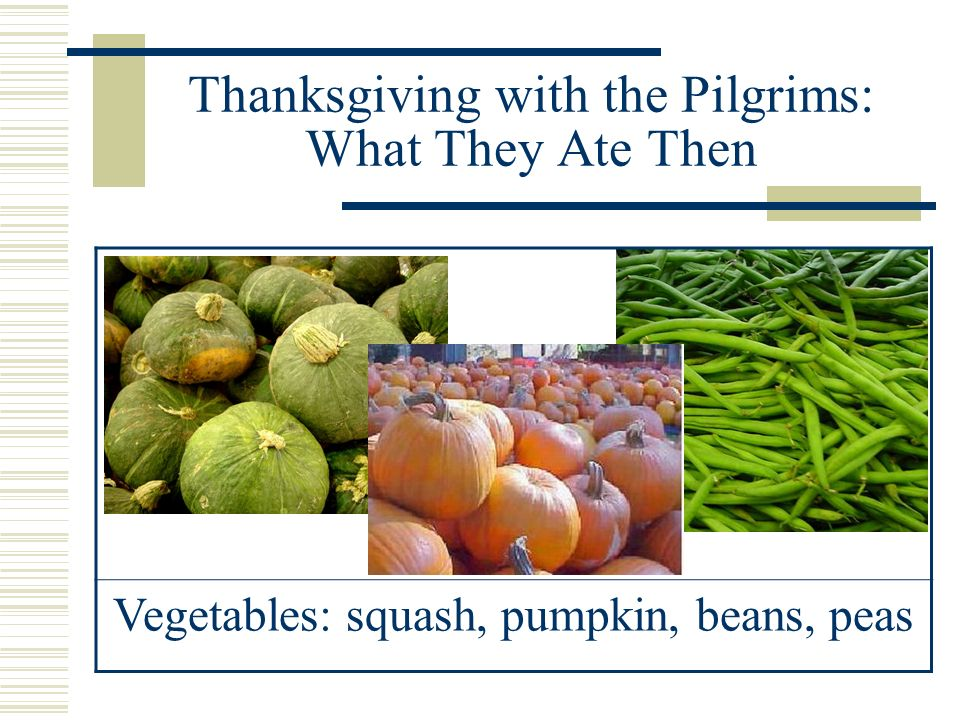 Thanksgiving with the Pilgrims: What They Ate Then Dried Fruits: berries, grapes, plums, apples