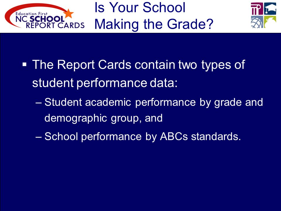 Is Your School Making the Grade.