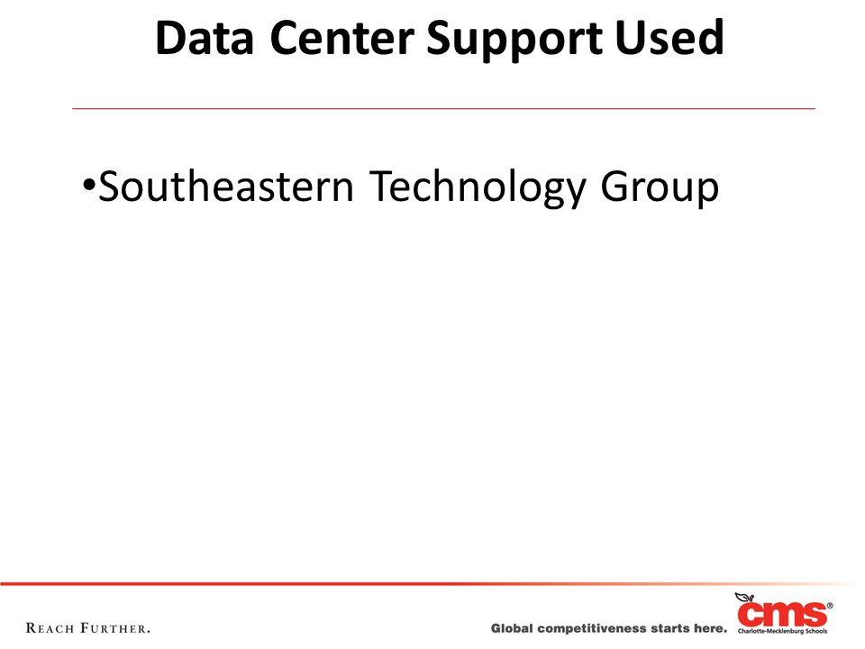 Data Center Support Used Southeastern Technology Group