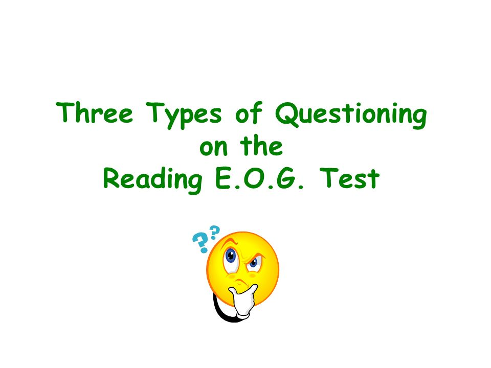 Reading Test In the past the test has consisted of about eight reading selections with six to nine associated questions for each selection.