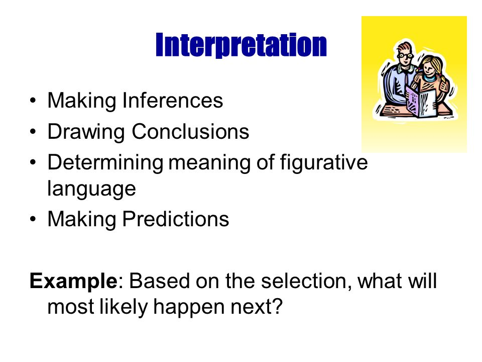 Cognition Purpose Main Idea Supporting Details Summarizing Main Points Vocabulary in Context Multiple Meaning of Words Text Features Reference Materials Parts of a Book Example: Based on the context of paragraph 3, what does scarce mean