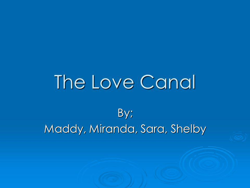 Love Canal History The love canal was one of the worst tragedy in US History.