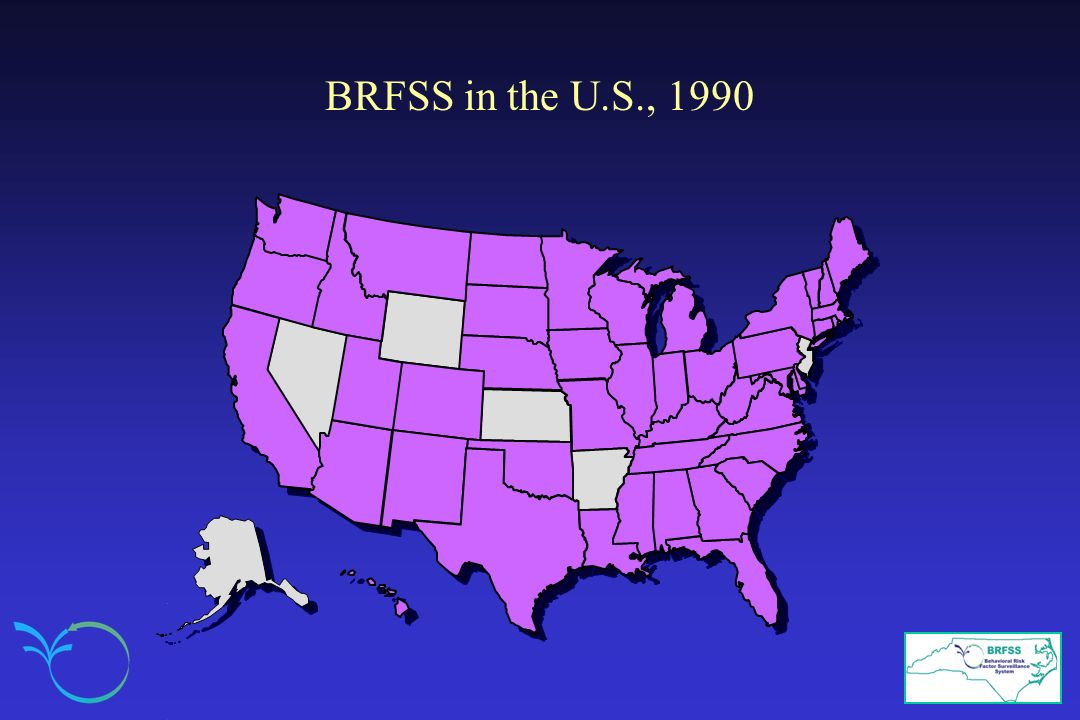 BRFSS in the U.S., 1990