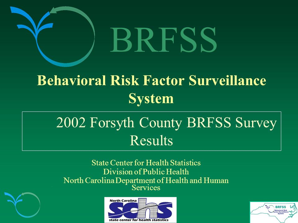 History of the BRFSS Survey Developed by the Centers for Disease Control and Prevention (CDC) and state health departments in the early 1980s in response to the need for: 1.