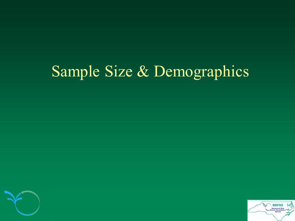 Sample Size & Demographics