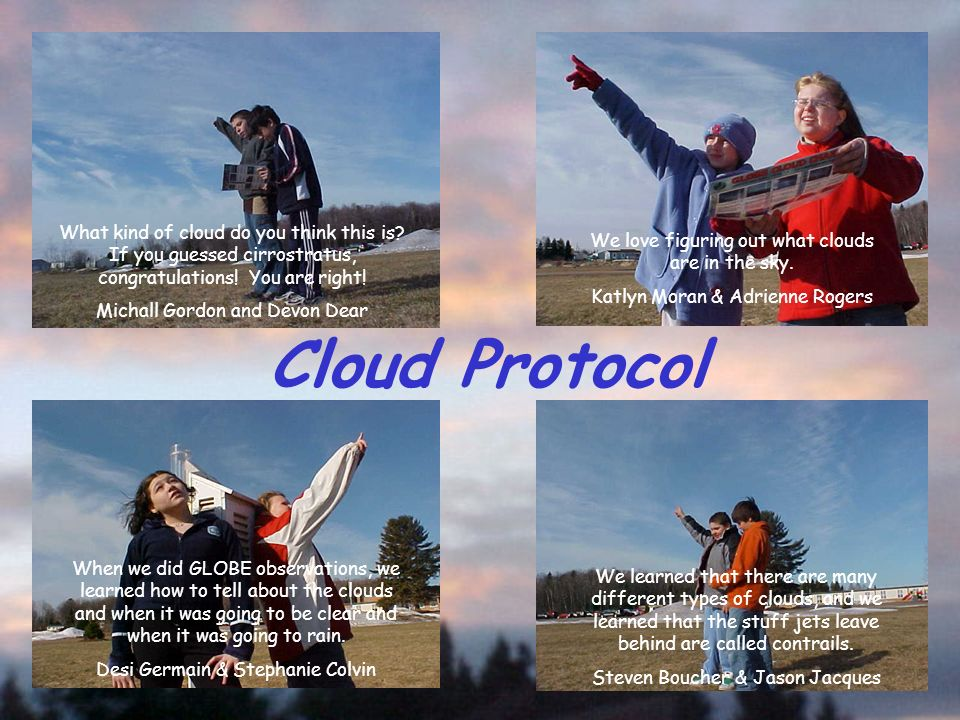 Cloud Protocol What kind of cloud do you think this is.