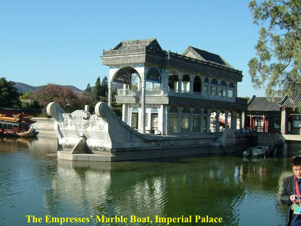 The Empresses Marble Boat, Imperial Palace