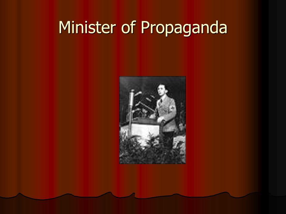 Minister of Propaganda