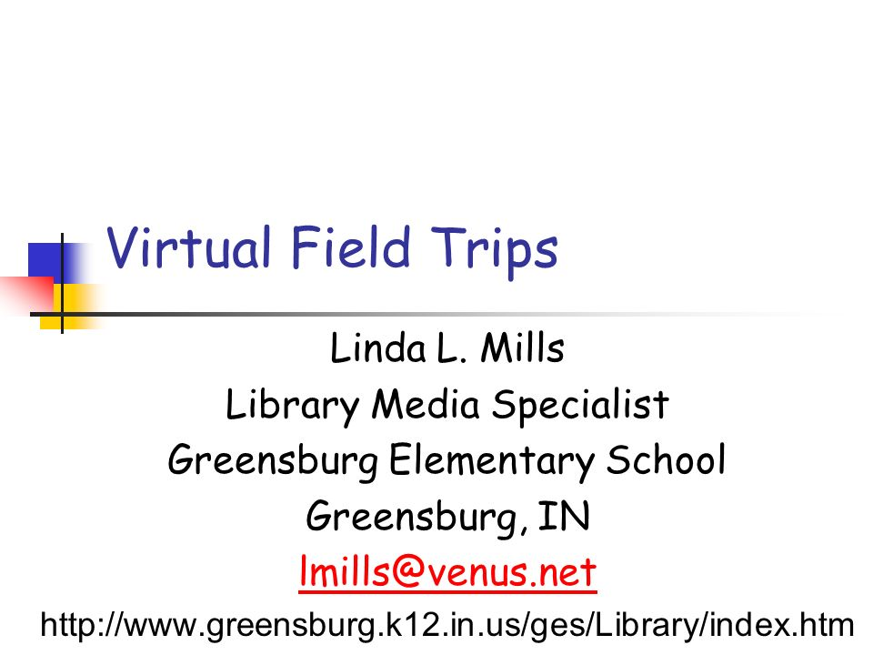 What are Virtual Field Trips.