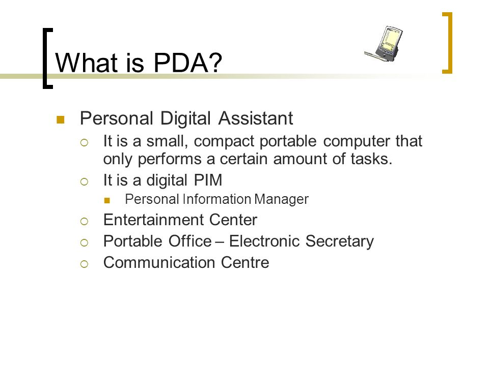 Why are PDAs becoming increasingly popular.
