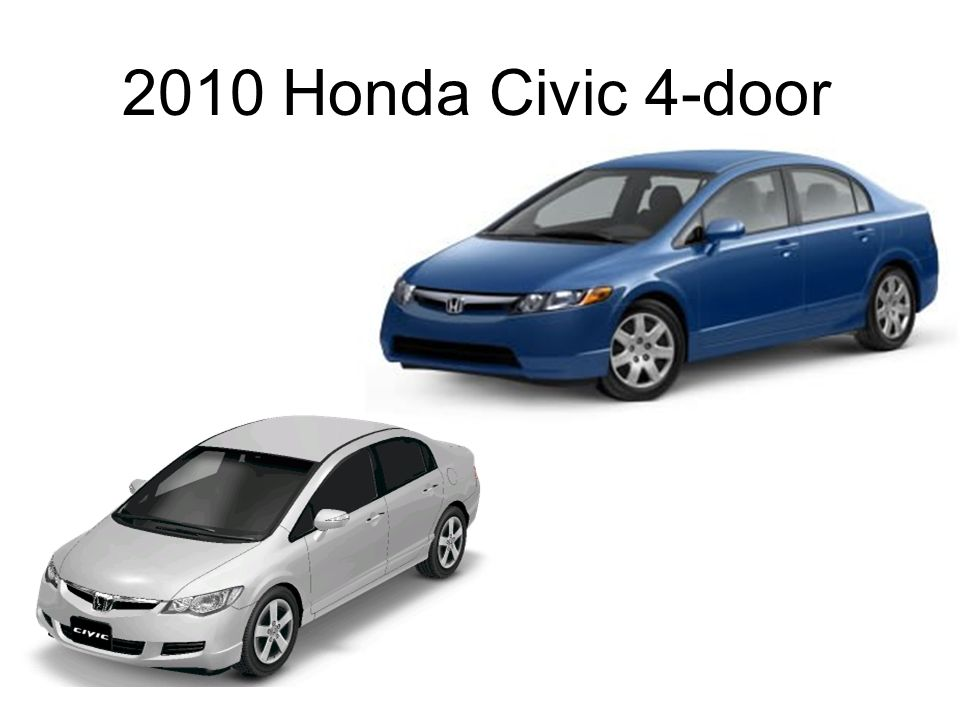 2010 Honda Civic 4-door