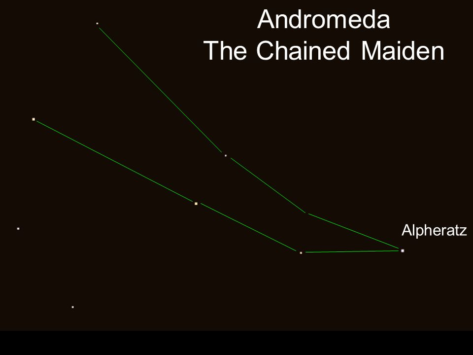 Andromeda The Chained Maiden Alpheratz