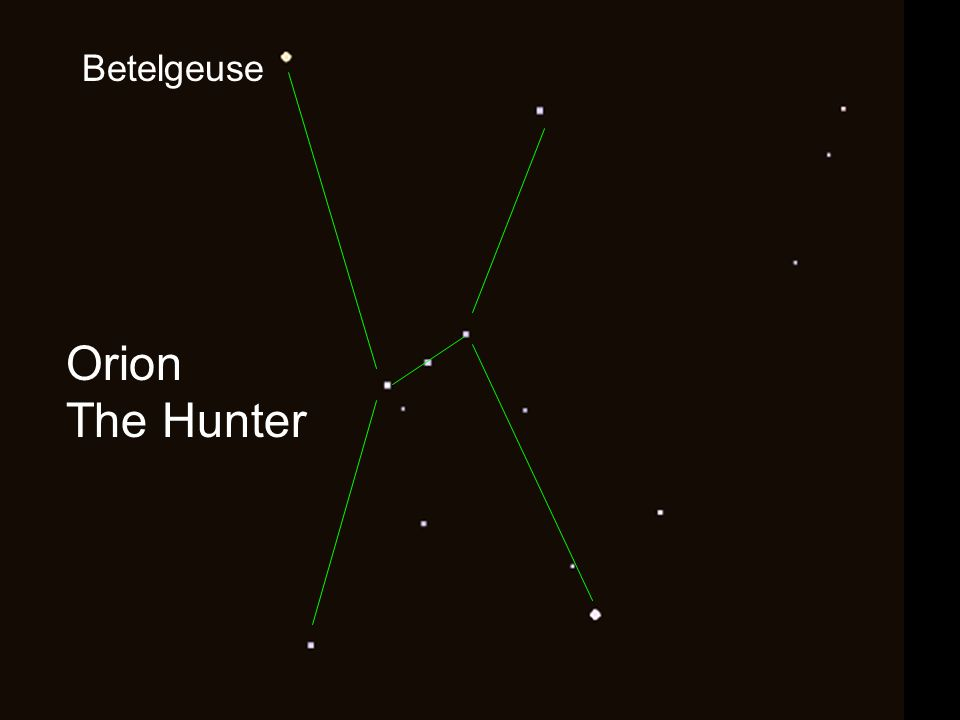 Orion The Hunter Betelgeuse